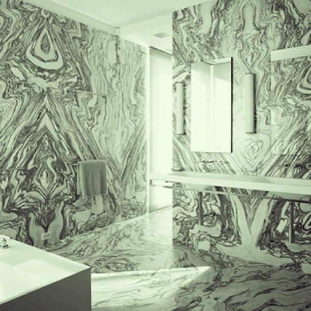Bathroom Interior · Mother Nature On Your Walls. Xk #kellywearstler  Instagrams