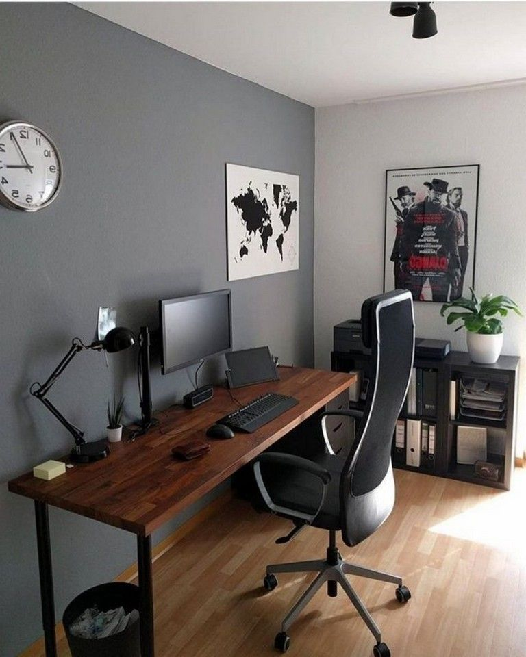 Pin By Kalani Enos On Desk In 2020 Home Office Setup Home Office Design Office Furniture Design