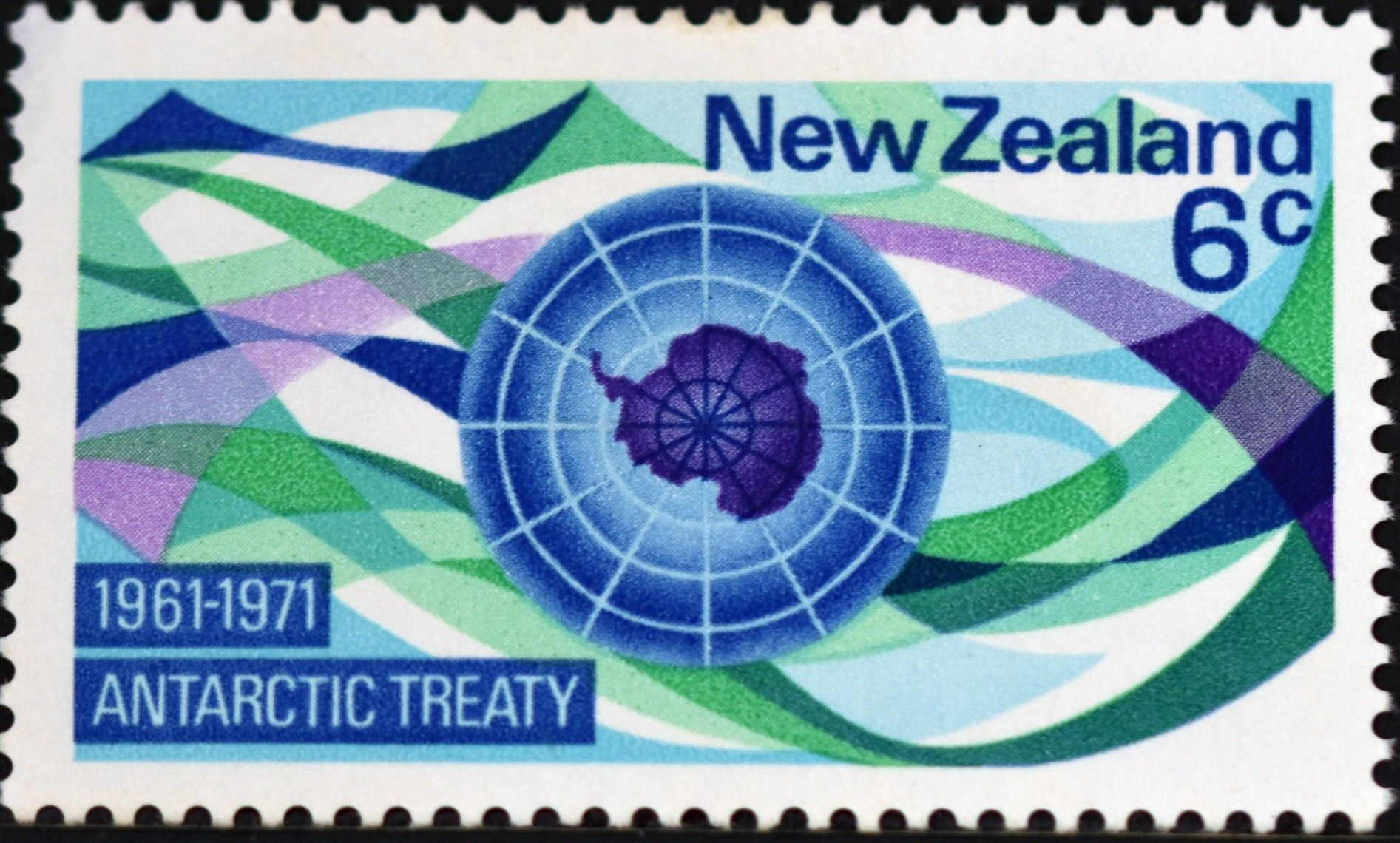New Zealand (639) 1971 The 10th Anniversary of the
