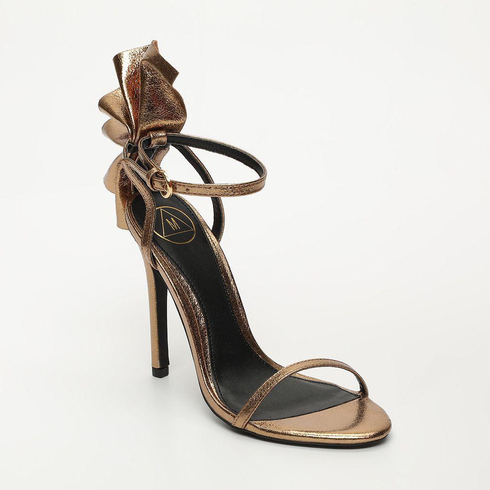 più popolare ottenere a buon mercato il più economico Sandali bronzo taco 12 by #Missguided #vpstyle #venteprivee ...