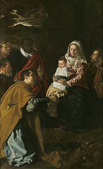 Diego Velázquez, Adorazione dei Magi, 1619, Museo del Prado. Madrid