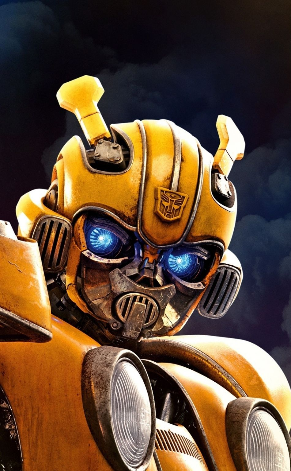 Bumblebee, Transformers, 2018 Movie, 950x1534 Wallpaper