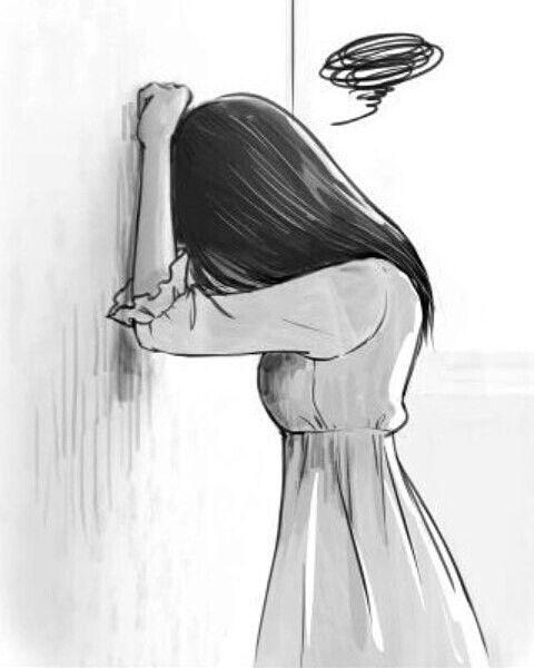 Pin de Maria Gomez en sad en 2018   Pinterest   Arte, Dibujos y ...