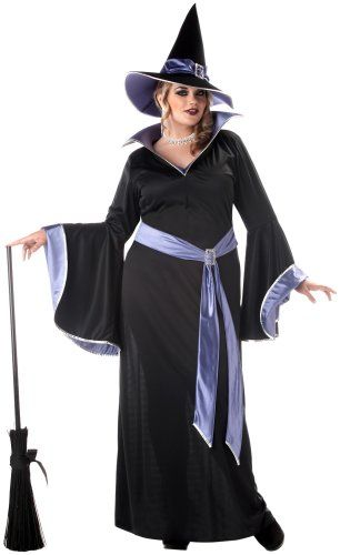traditional witch costume  sc 1 st  Pinterest & Traditional Plus Size Halloween Costumes for Women | Happy Halloween ...