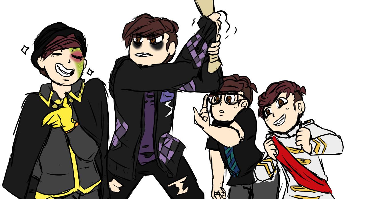 """egotisticalfloof: """" I feel like this """"Draw My Squad"""" fits"""