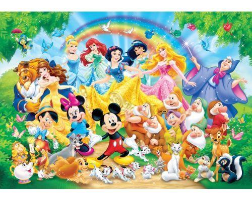 Puzzle Clementoni Familia Disney Maxi 24 Piezas