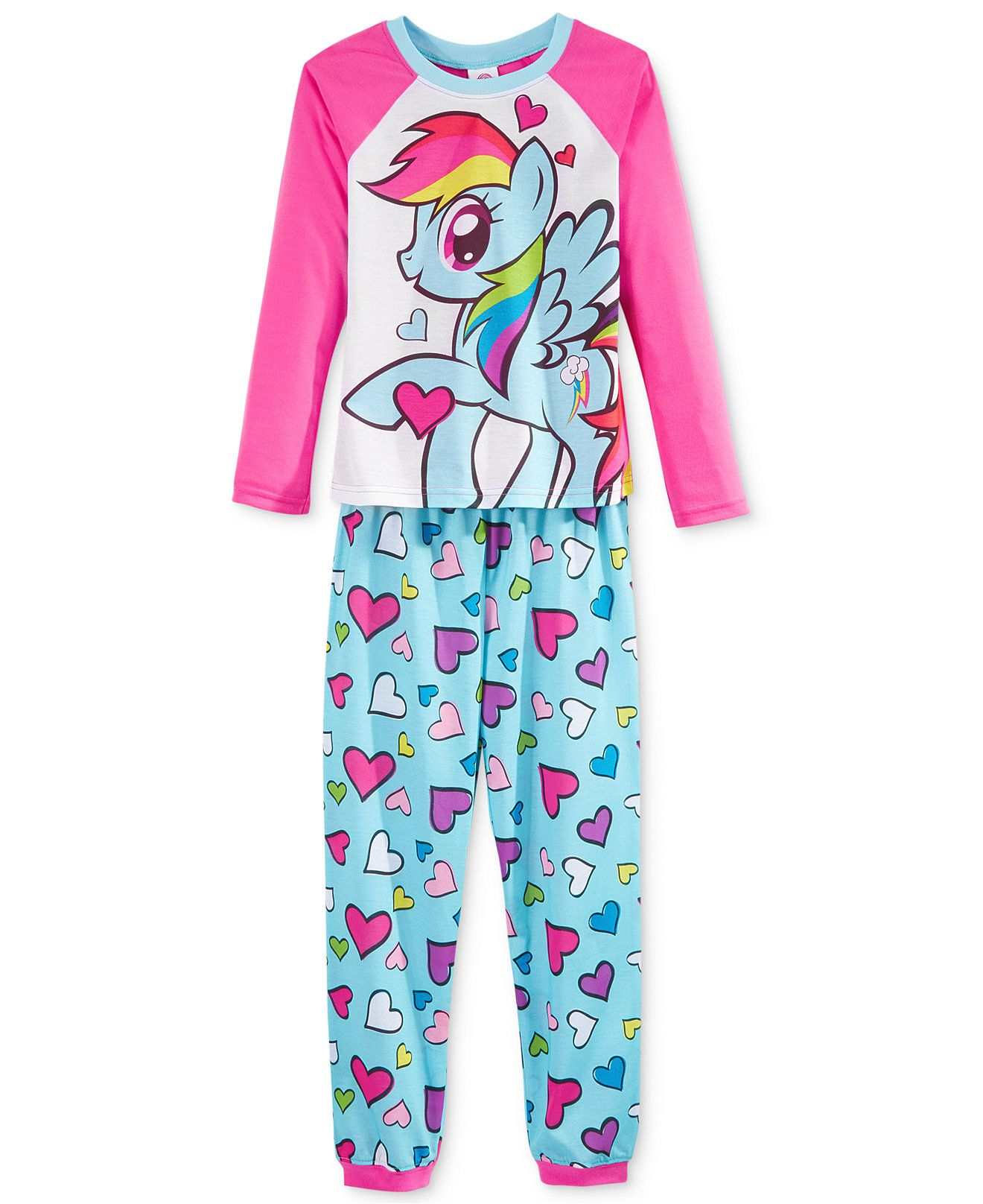33cdbbbfa0 My Little Pony Girls  or Little Girls  2-Piece Pajama Set - Kids   Baby -  Macy s - F - 2015