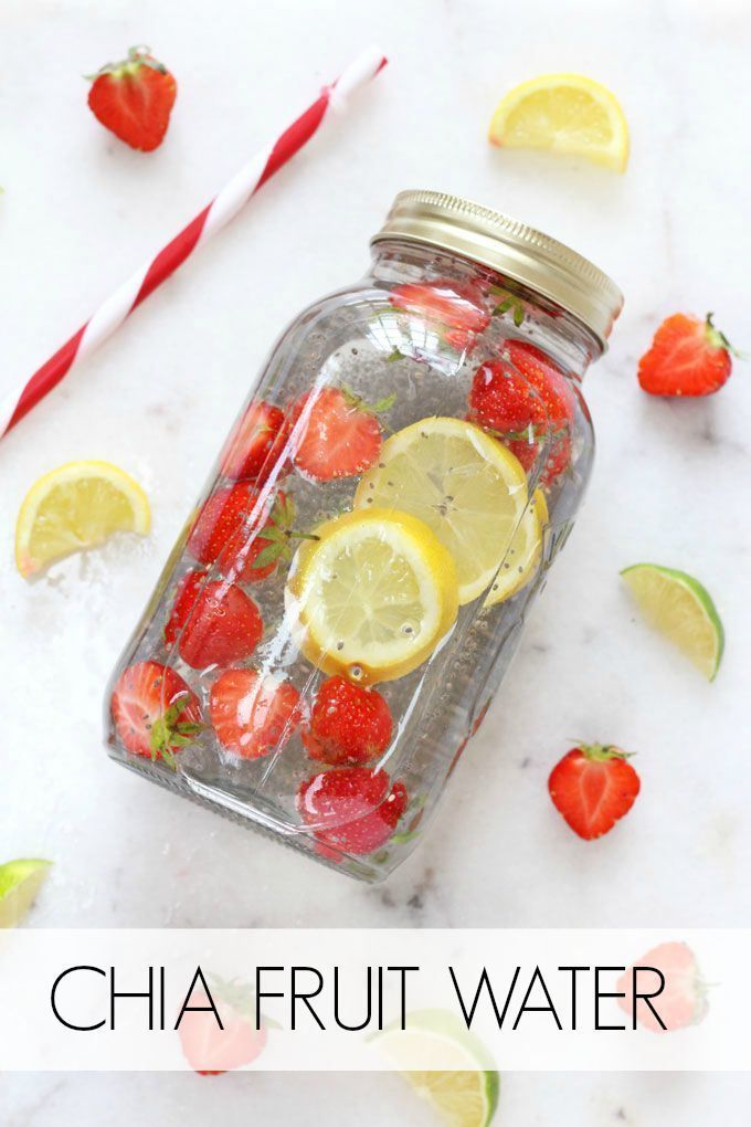 Chia Fruit Water