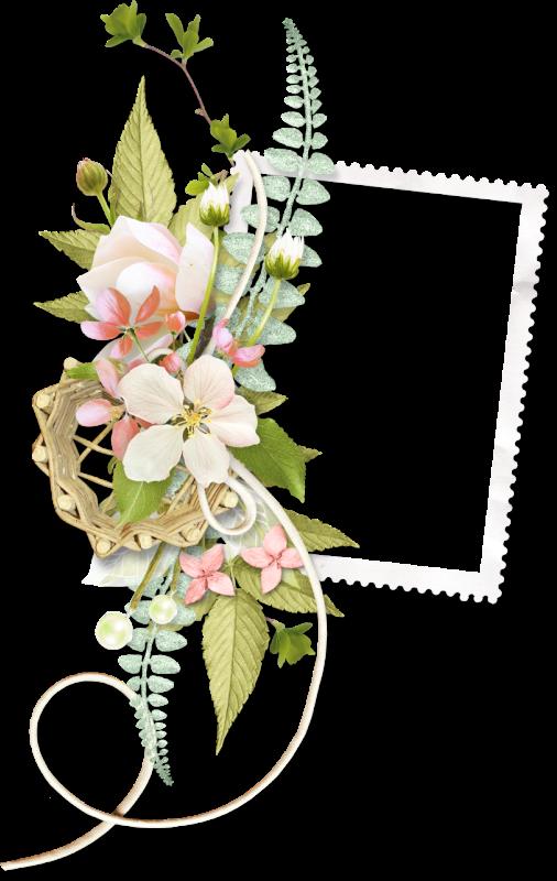 Cadres et bordures page 826 bordes marcos y etiquetas for Cadre floral mural