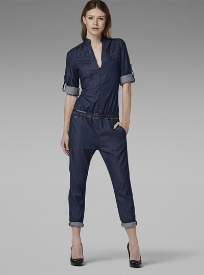 9fcfd307a38 LYNN JUMPSUIT van G-star jeans