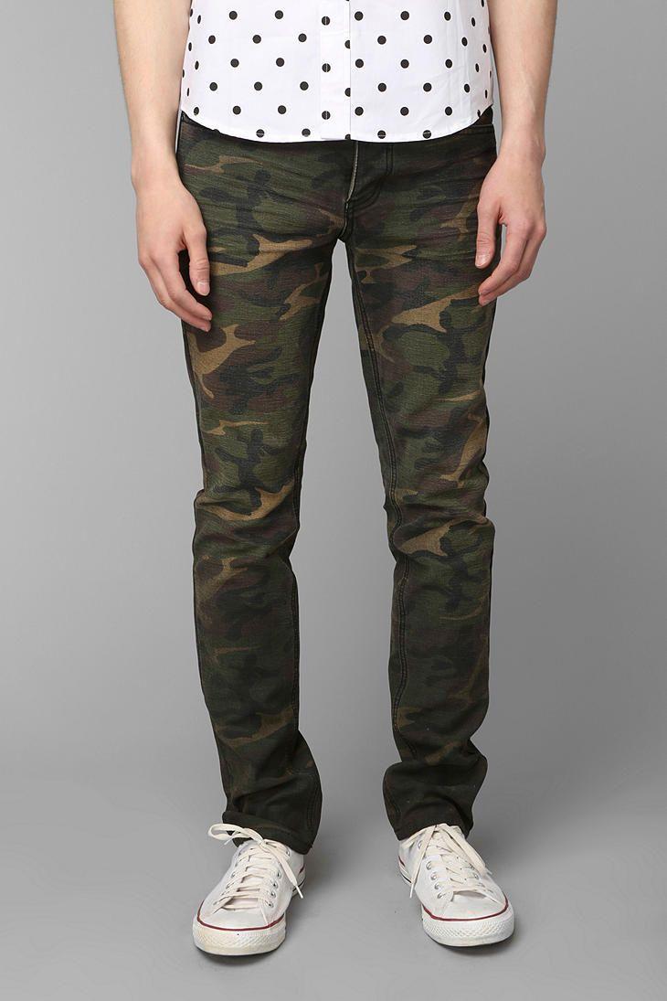 4c0ed9ef40c41 KC By Kill City Faded Waxed Camo Pant | #UOMens | Camo pants, Pants ...