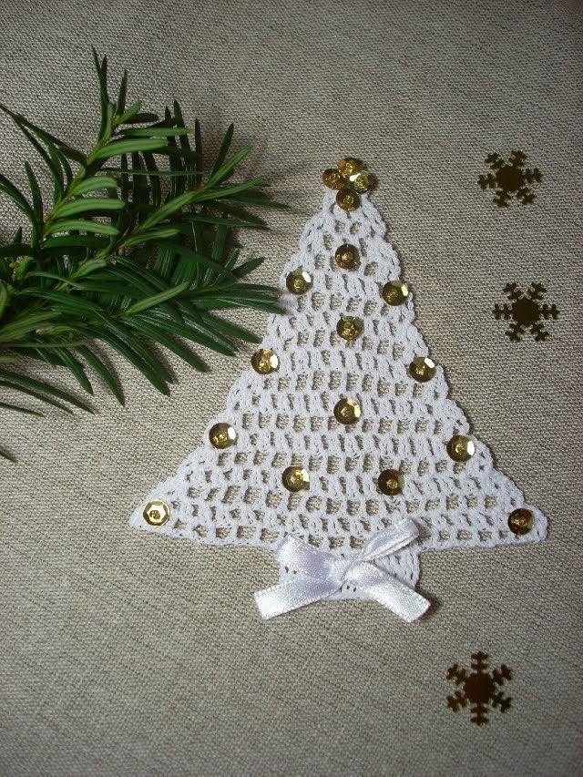 Arbol de Navidad Plano de Crochet - Patrones Crochet | navidad ...