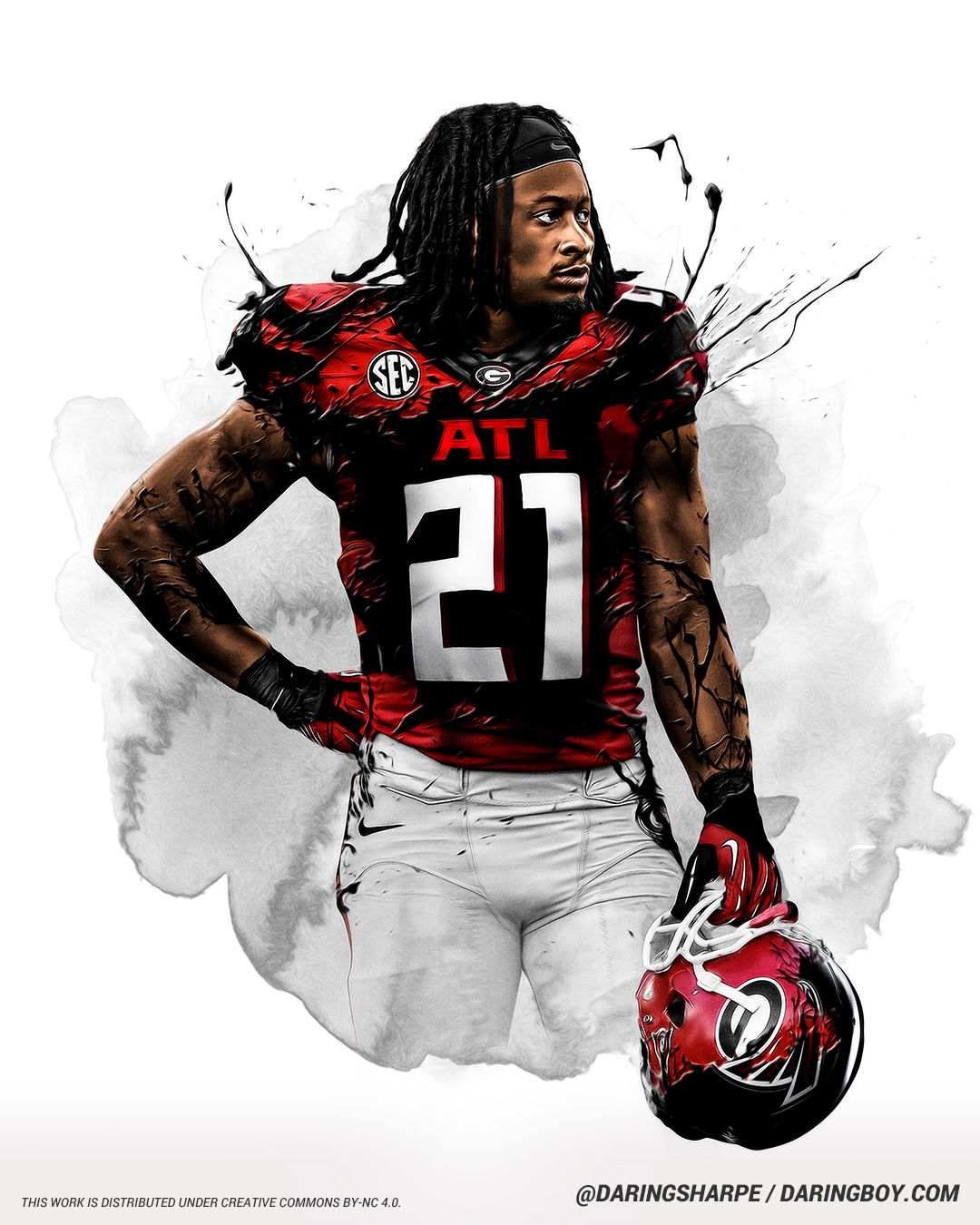 Todd Gurley Atlanta Falcons Georgia Bulldogs In 2020 Atlanta Falcons Atlanta Falcons Football Atlanta Falcons T Shirt