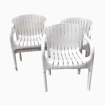 Vintage Dangari Stühle von Pierre Paulin für Allibert, 6er Set Jetzt ...