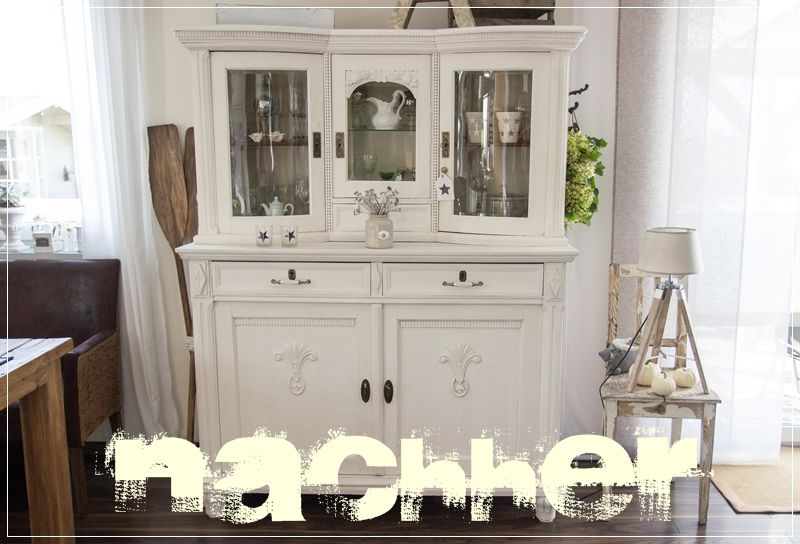 schrank mit kreidefarbe gestrichen creativlive shabby chalk paint and furniture makeover. Black Bedroom Furniture Sets. Home Design Ideas