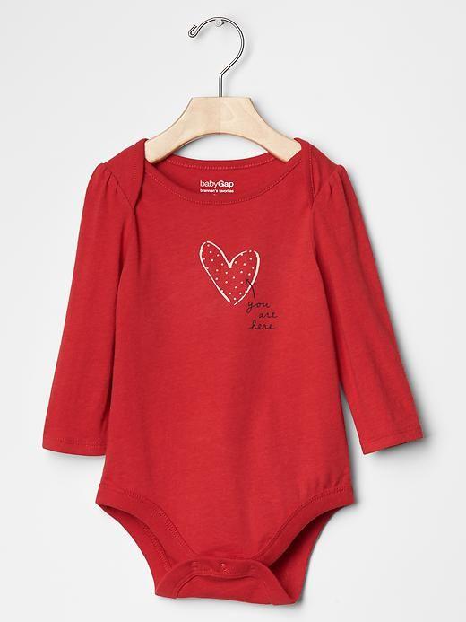 Mini heart bow bodysuit