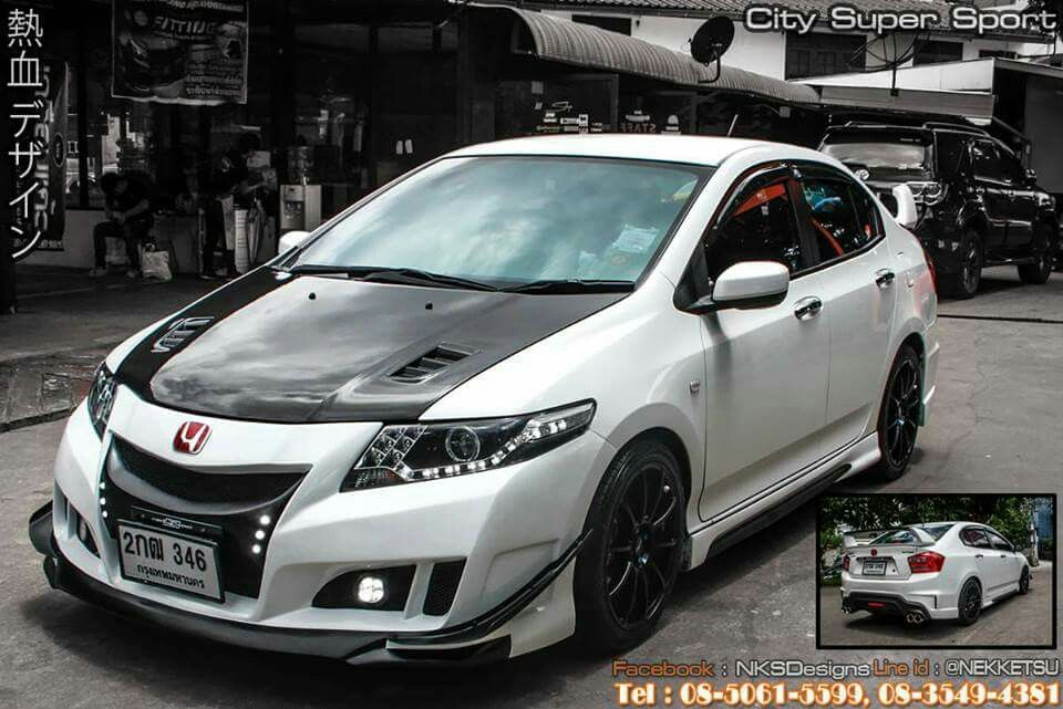 Honda City 08 13 Super Sport Body Kit By Nekketsu Thailand