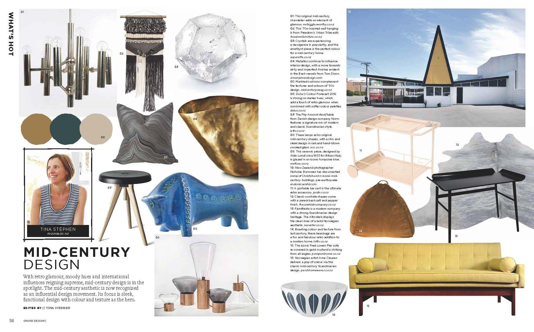 Grand Designs NZ Magazine, August 2016