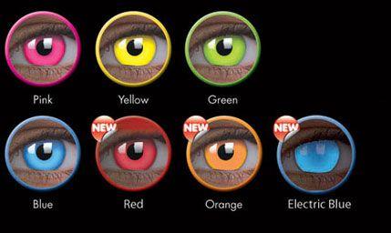 light up eye lenses