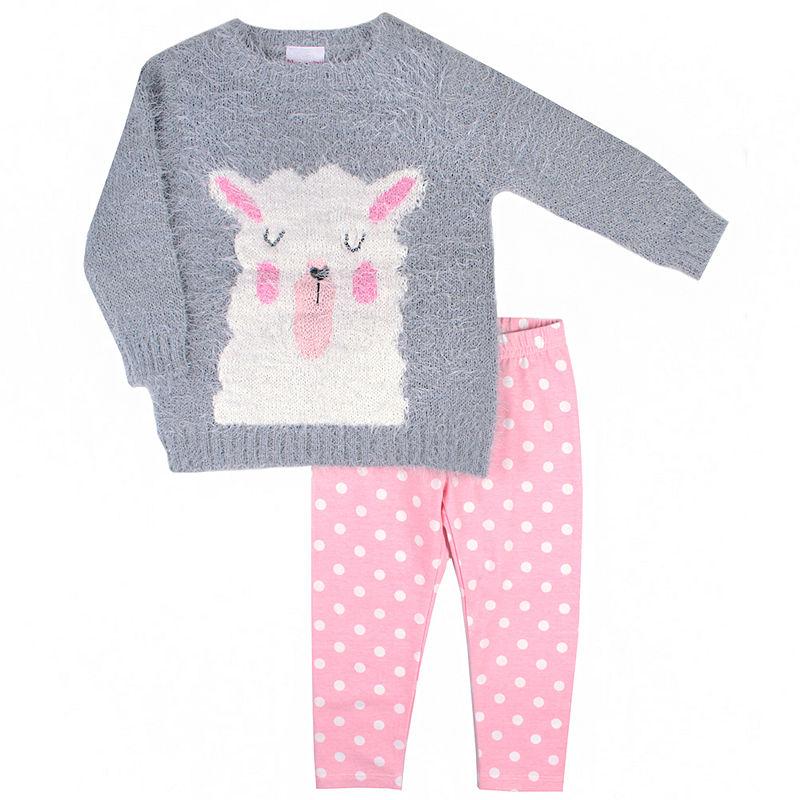48ac67ee0c0b8 Okie Dokie 2-pc. Legging Set-Toddler Girls | Products in 2019 ...