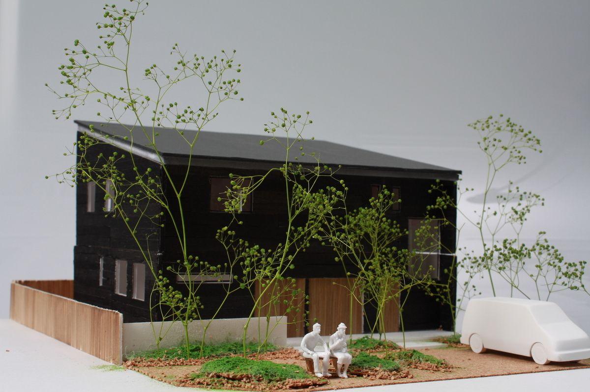 受賞作品 木の家設計グランプリ 住宅模型 建築模型 建築