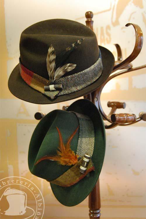 Sombreros de invierno en Sombrerería Albiñana - http    www.sombrerosybanderas.com ee005c967c5