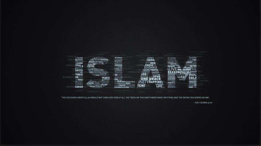 Black Background Minimalist Islam Desktop Wallpaper Wallpaper Islami Wallpaper Gelap Motivasi