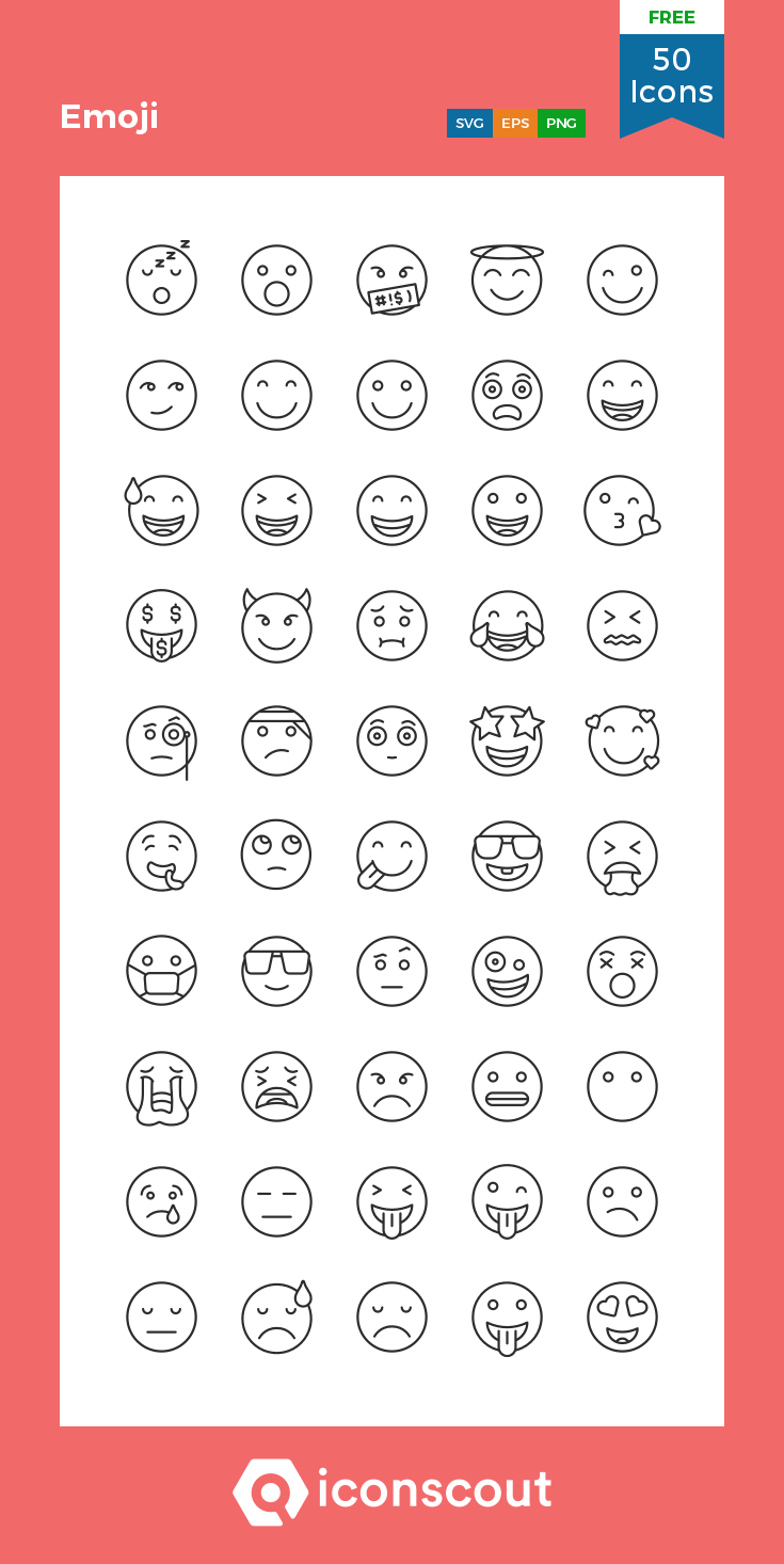 Download Emoji Icon Pack Available In Svg Png Eps Ai Icon Fonts In 2020 Icon Emoji Icon Pack