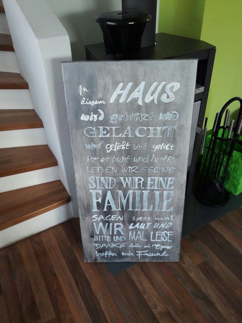 Zitat zum Thema Haus und Familie