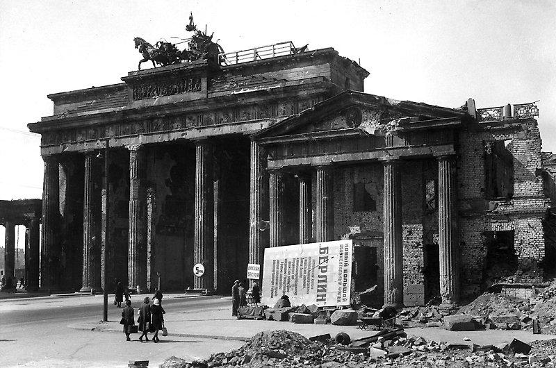 Brandenburger Tor 1946 Historische Bilder Bilder Historisch