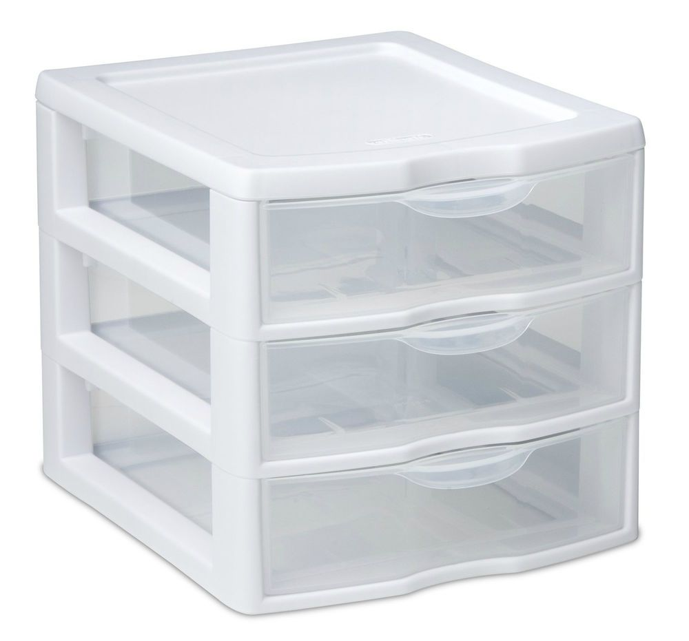 Small Plastic Makeup Drawers Small Clear Plastic Storage Cabinets With