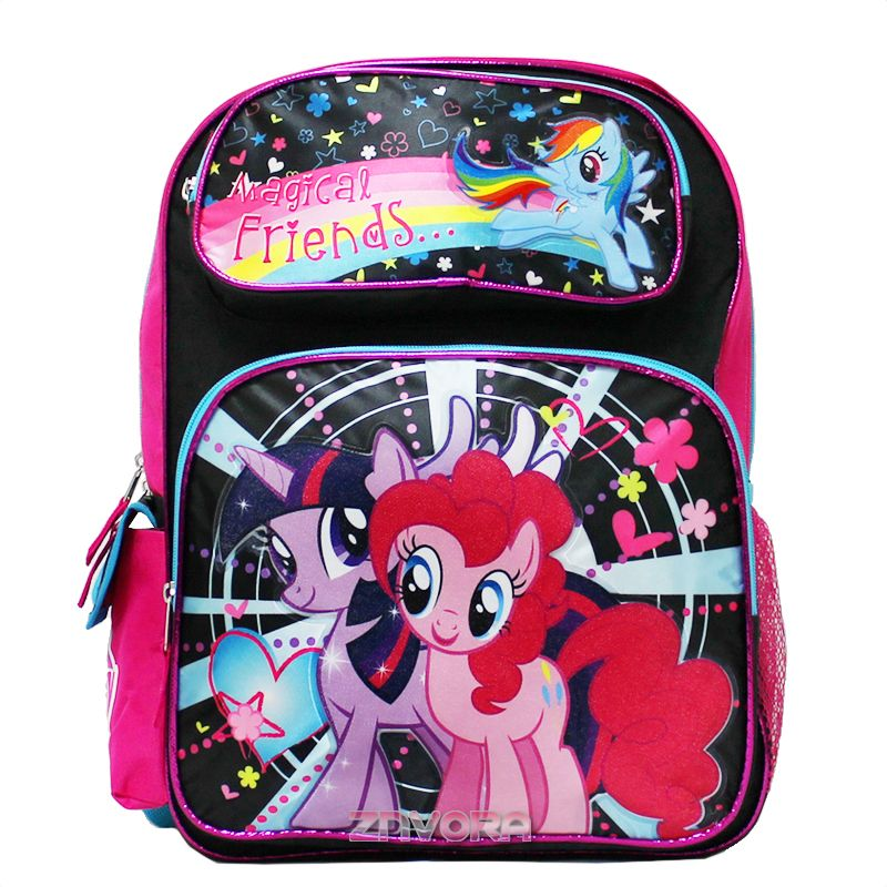 """Licensed Product BRAND NEW My Little Pony 12/"""" inches Small Backpack"""