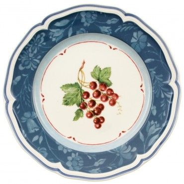 Cottage Inn By Villeroy And Boch Cottage Blue Salad Plate