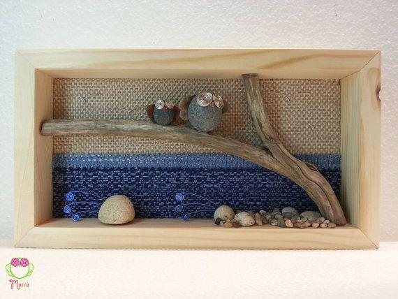 Pebble art  Decorazione camerette dei bambini  di MariuCreazioni