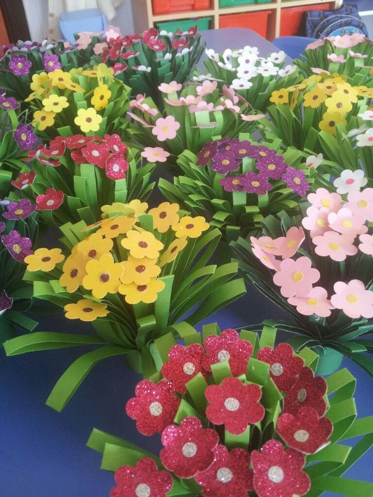 Dzien Babci I Dziadka Flower Crafts Spring Crafts Mothers Day Crafts