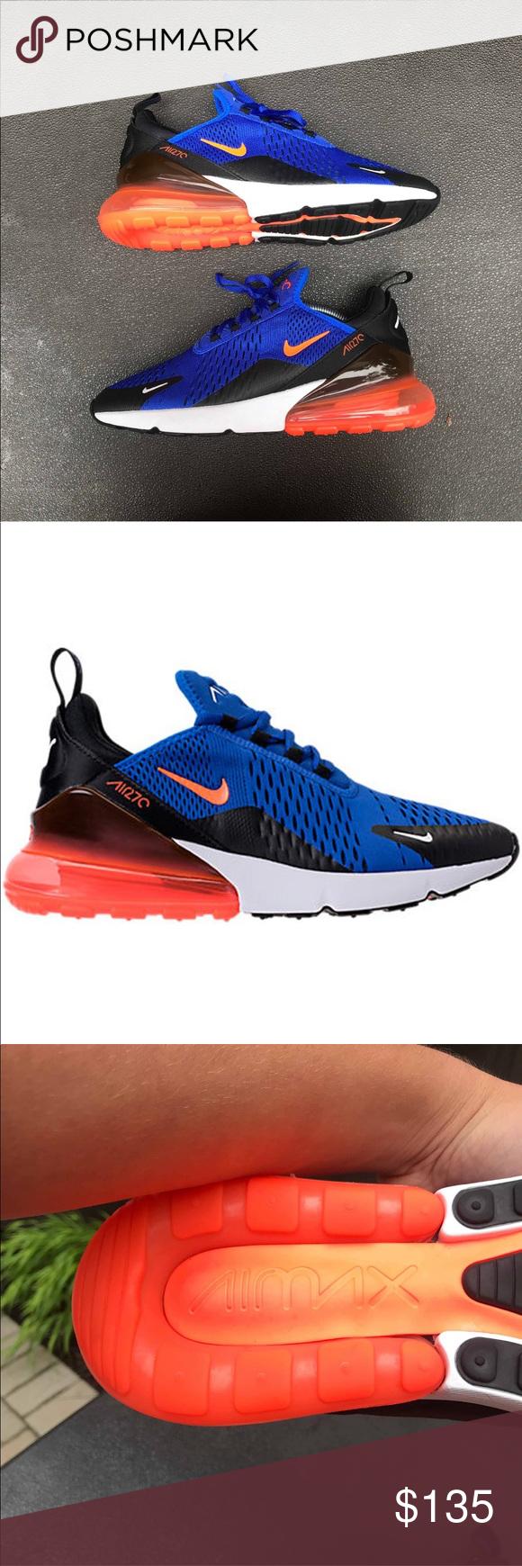Nike airmax 270 racer blueorange Brand new never worn comes