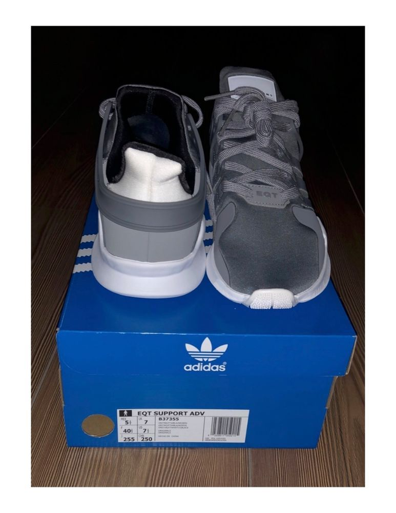 pretty nice 8ebaf c4eb8 Adidas EQT SUPPORT ADV Grey Size 7.5 US Brand New sold with ...