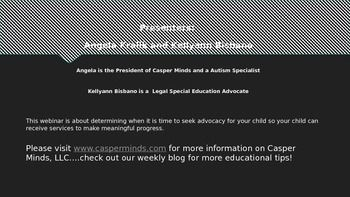 Parents of Children with Special Needs may need help navigating the Special Education Realm