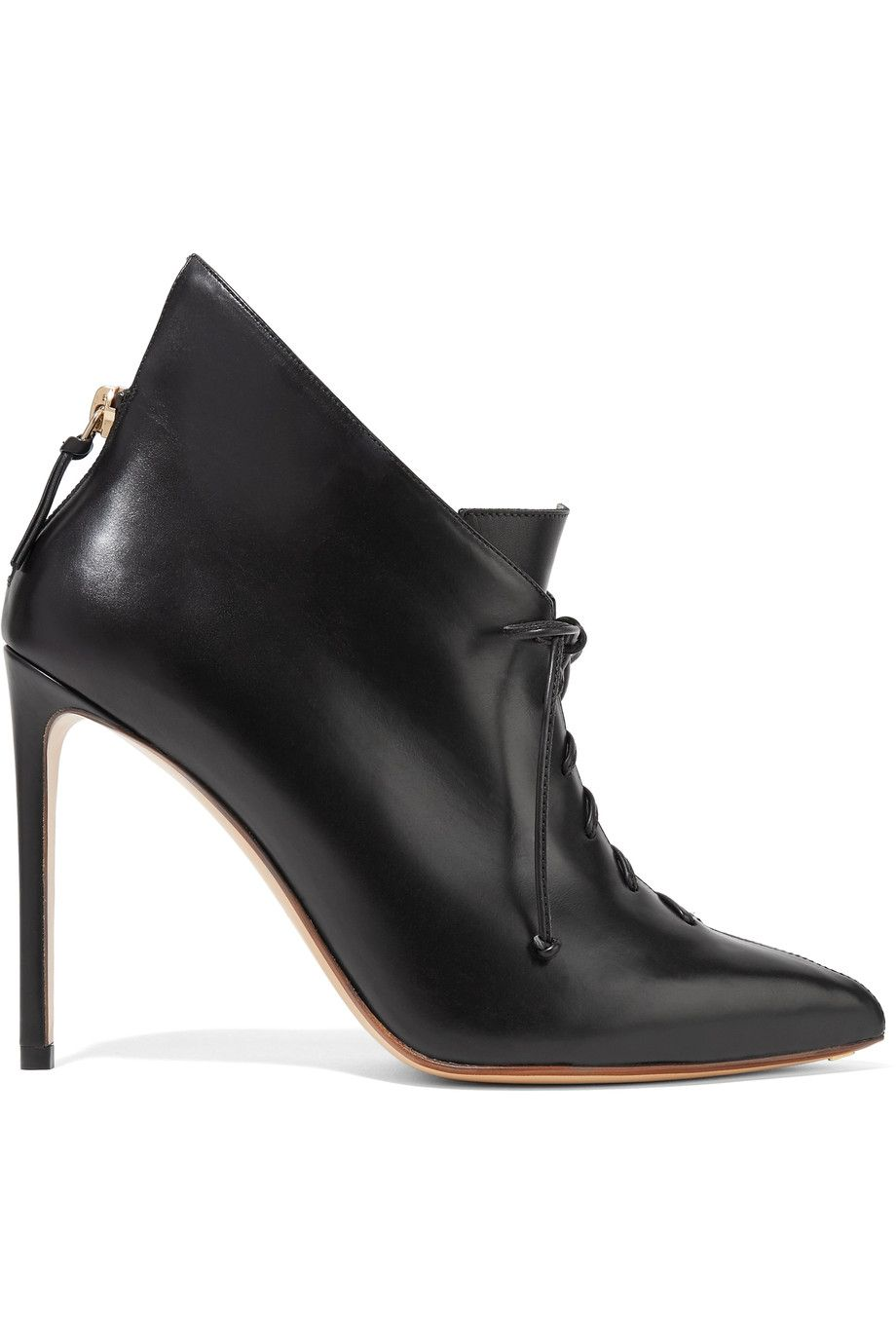 Francesco Russo Leather ankle boots ADzEP
