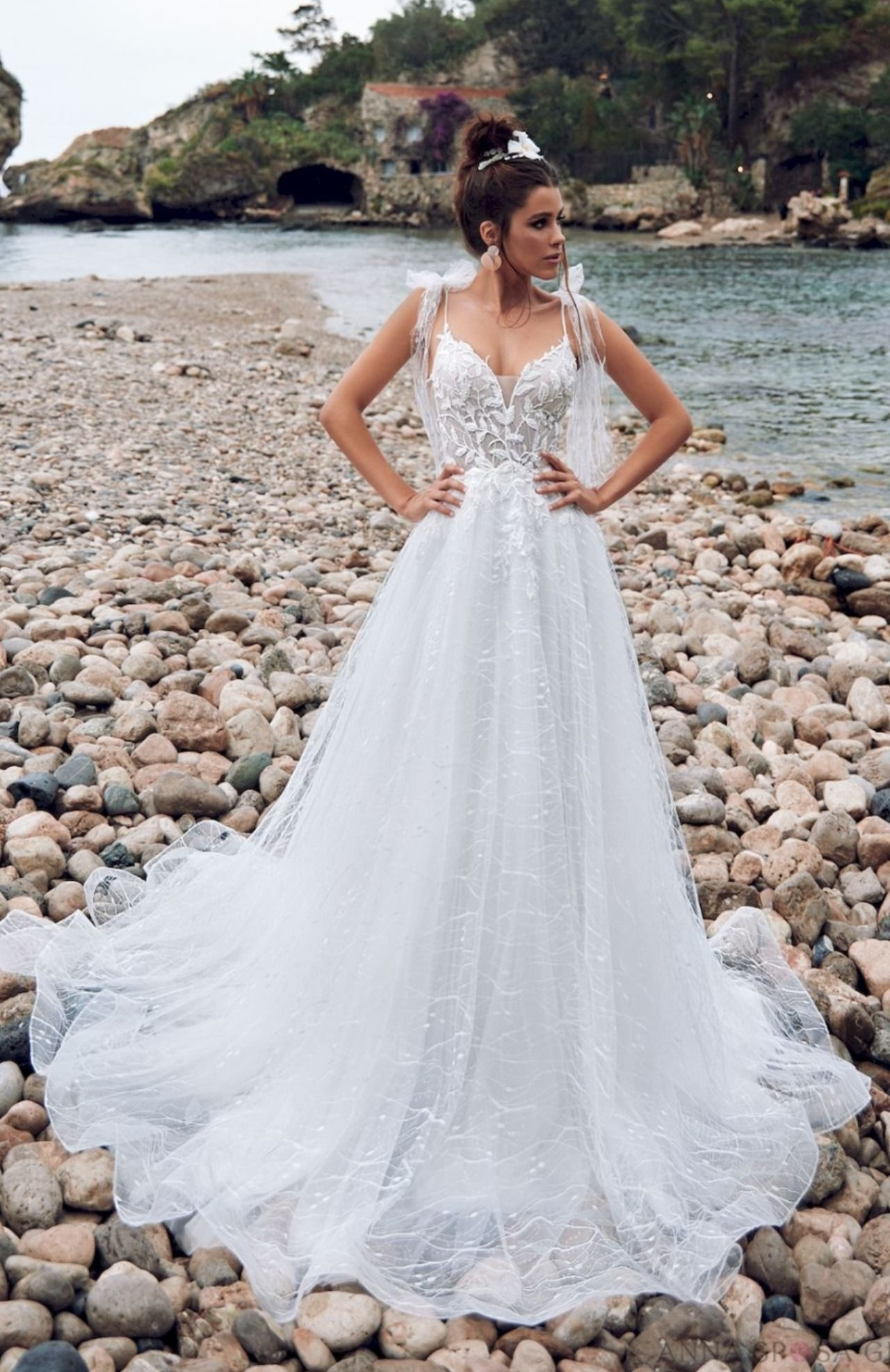 Beliche Wedding Dress Bella Sicilia Collection In 2020 Wedding Dresses With Straps Bow Wedding Dress Wedding Dresses Ebay