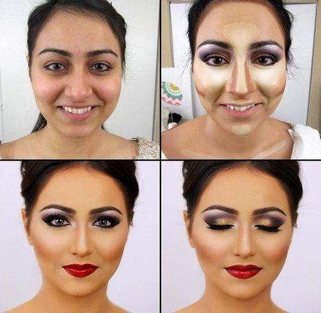 Makeover Tips by highlighing / Contouring #Makeup #beauty ...