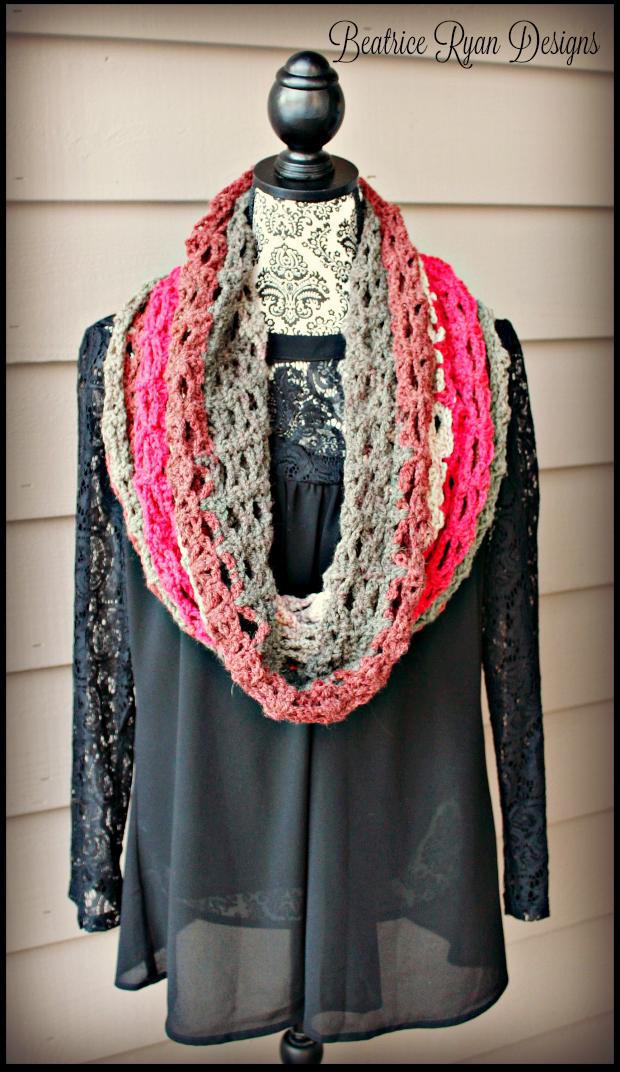 Winter\'s Twist Free Headband Pattern | Tuch häkeln, Halstuch und Tücher