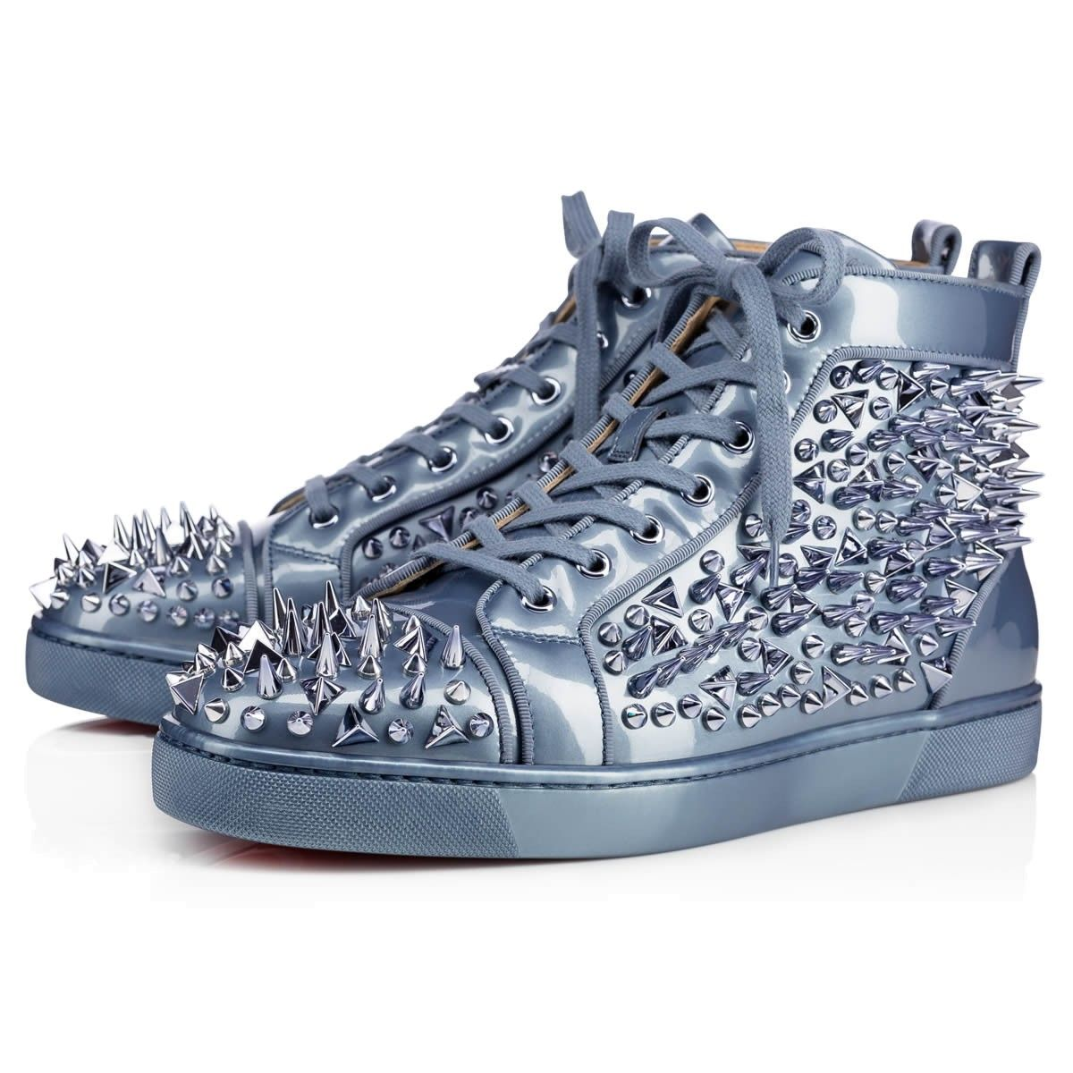 d2b6e12c8395 CHRISTIAN LOUBOUTIN Louis Pik Pik Orlato Men S Flat Poseidon Metal Patent - Men  Shoes - Christian Louboutin.  christianlouboutin  shoes