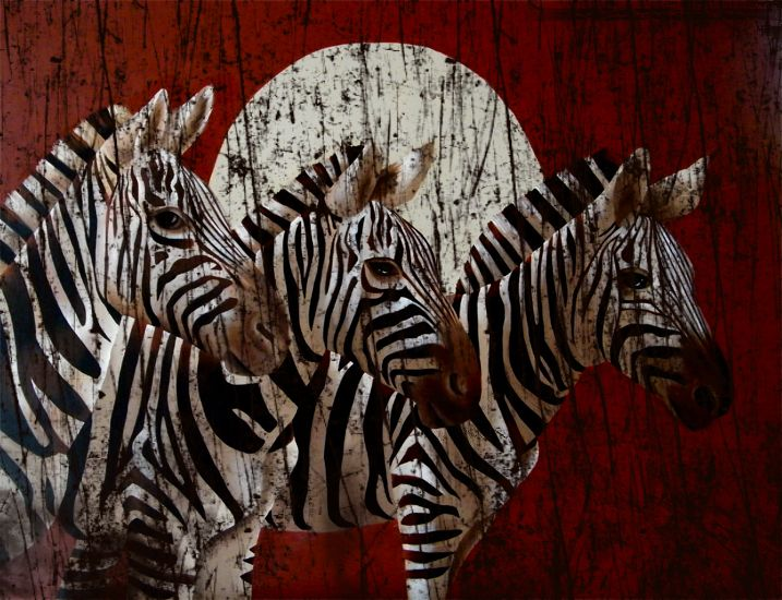 Zebras by BritaSeifert.deviantart.com on @deviantART
