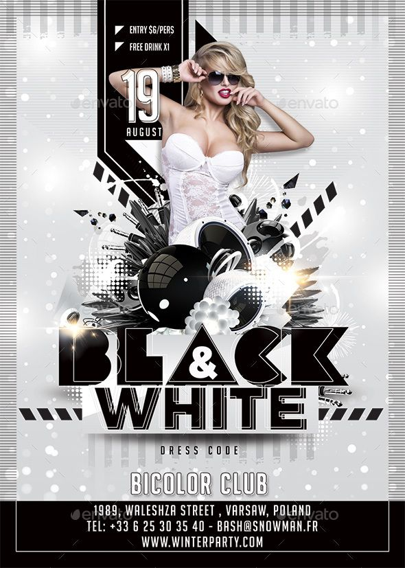 Black And White Party | Pinterest