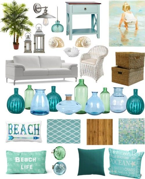 Learn secret designer tips on how to decorate coastal style on a ...