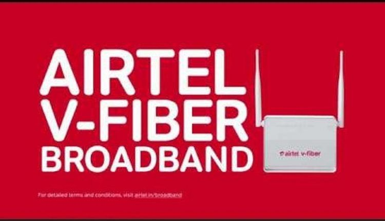 Airtel Free Internet and Landline Connection with Unlimited calling