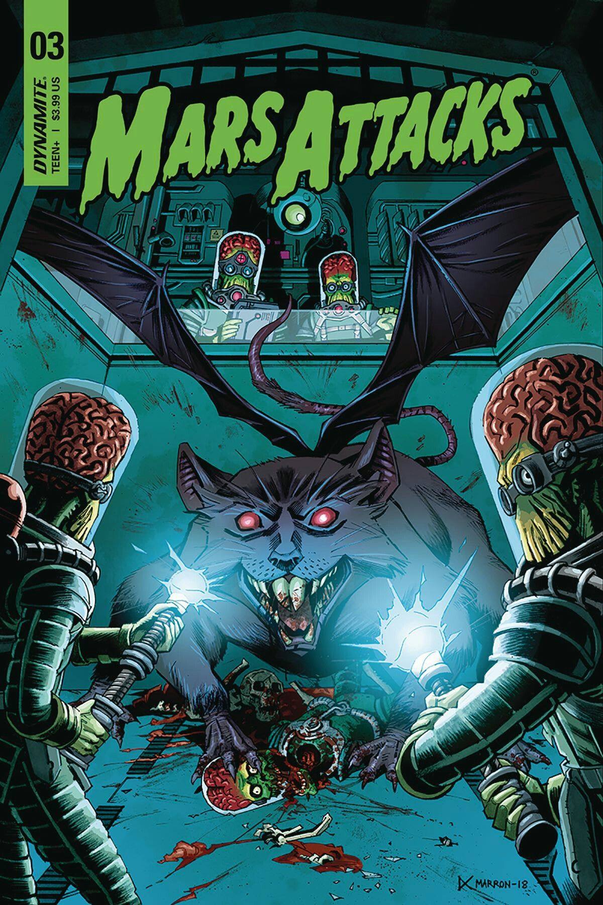 Mars Attacks Dynamite Comics, Dark horse, Comic book cover