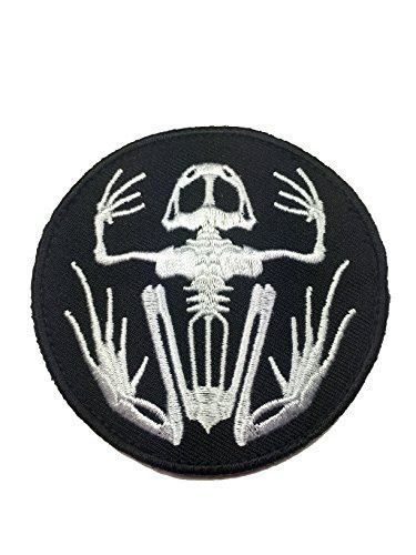 US Navy Seals Frogman Skeleton Tactical Patch - By Patch Squad - High  Quality Embroidered Patch - Velcro Hook backing for attachment to Tactical  Hats and ... 3d8d8a1c2da