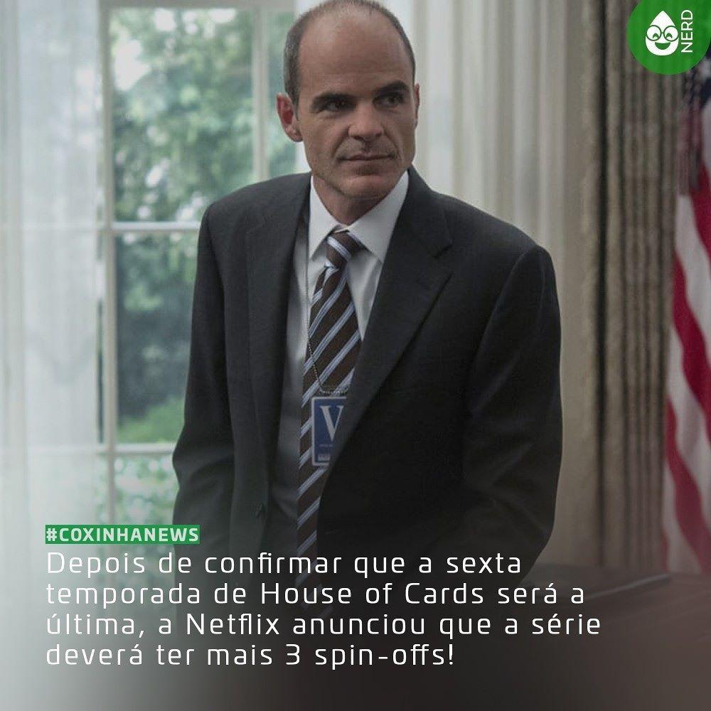 #CoxinhaNews Uma Dessas Séries Derivadas De House Of Cards